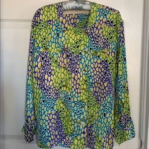 Vintage Escada silk blouse....